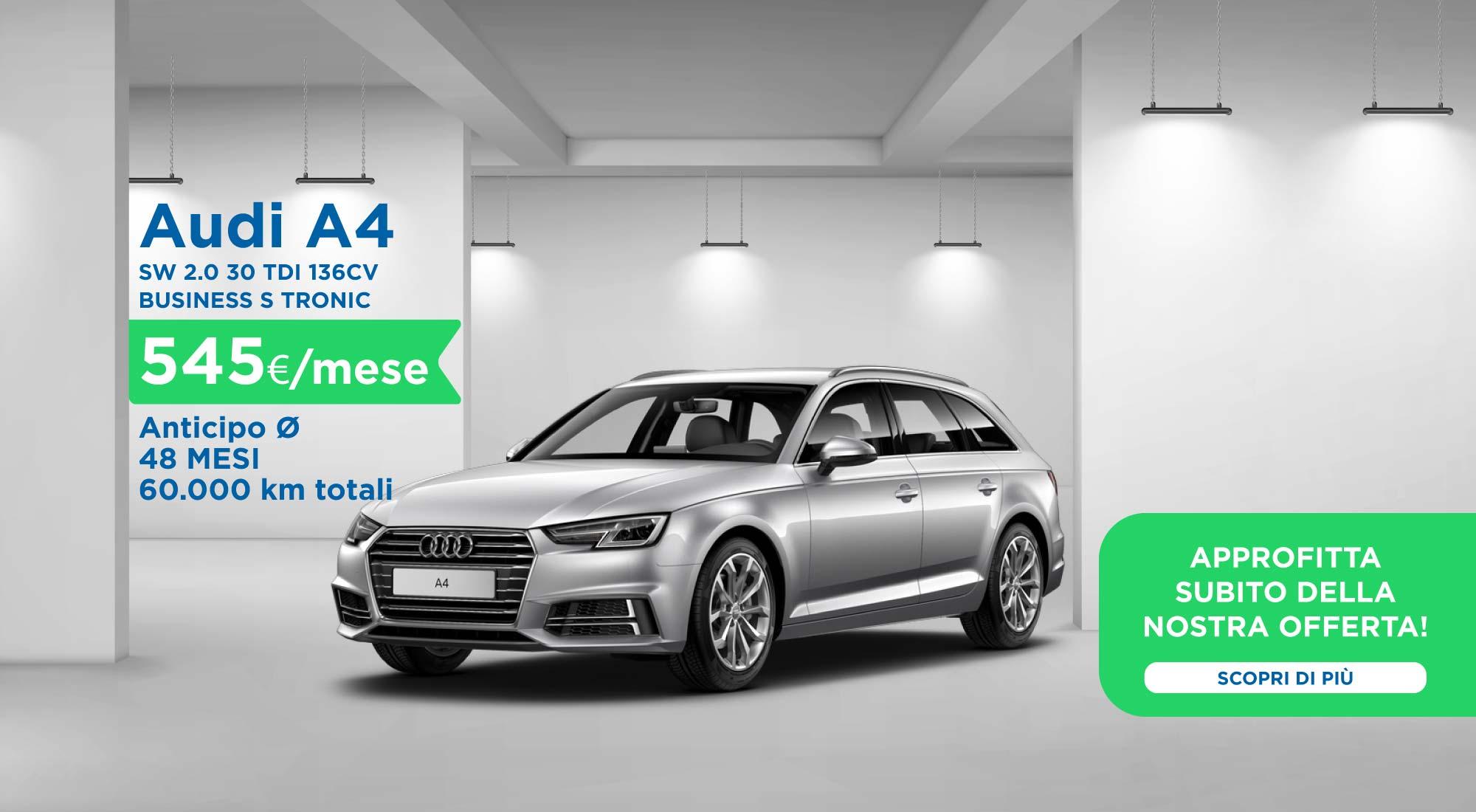 club-rent-promo-maggio-Audi-A4